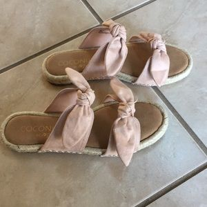 Gianna espadrille slide sandals